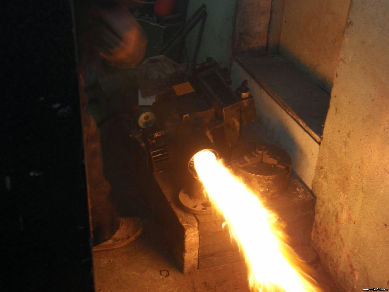 286Горелка в печь на отработанном масле своими руками